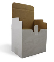 flap folding case, corrugated case